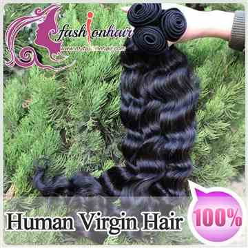 100% Brzailian Virgin Human Hair Weave Loose Wave Weft