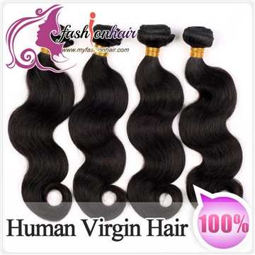 100% Malaysian Virgin Human Hair Weave Silky Straight Weft
