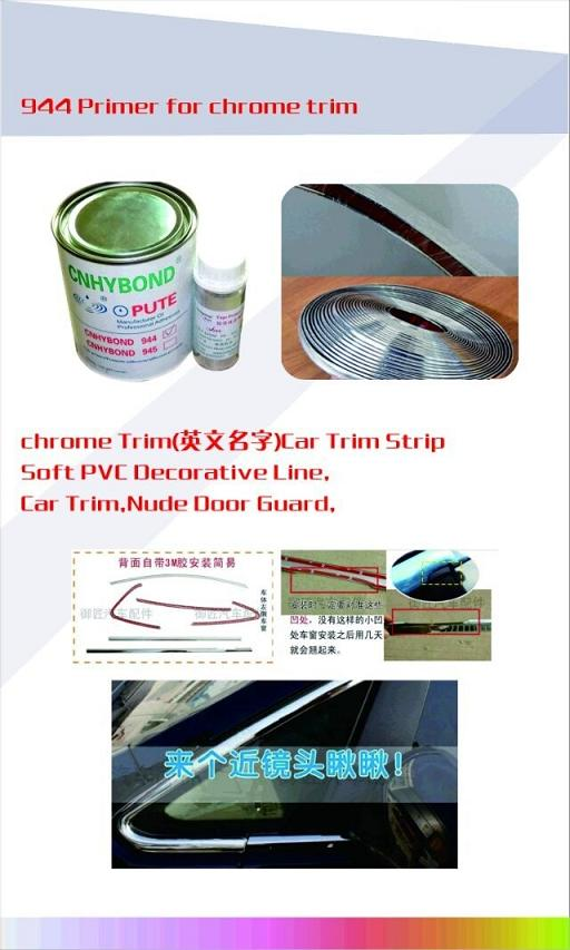 3M 94 Quality Tape Primer for Car Trim, Chrom Trim