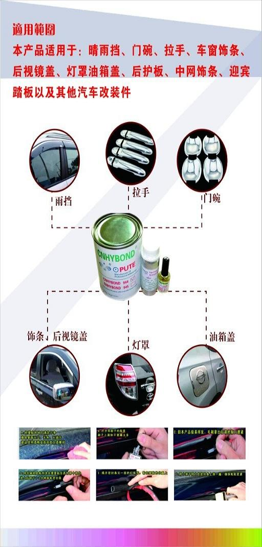 Replace 3M 94/K-520 Adhesion Promoter for Car Door Handle, Light Shade