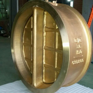 Integral Dual Plate Check Valves, ASTM B148