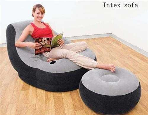 Intex Air Sofa With Foot Rest