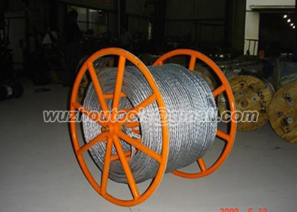 Prevent twisting steel wire rope