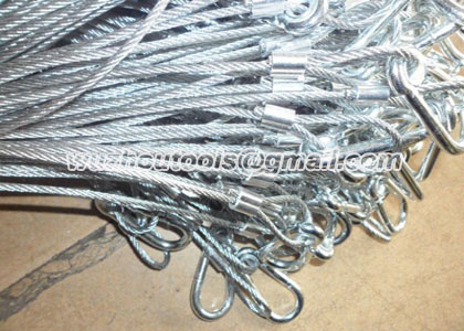 No twist steel wire rope,braided traction steel wire rope