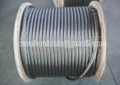 Good Galvanized steel wire rope,Non-rotating wire rope