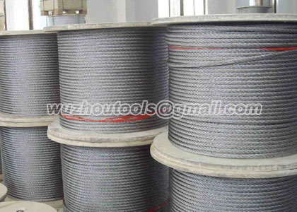 1*25Fi Prevent twisting wire rope,hoisting wire rope