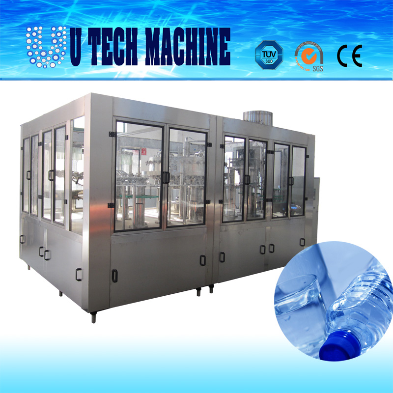 U TECH MACHINE WATER BOTTLING LINE