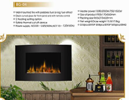 Electric fireplace BG-04
