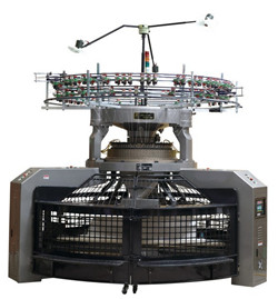 High Speed Inter-Rib Open Width Circular Knitting Machine