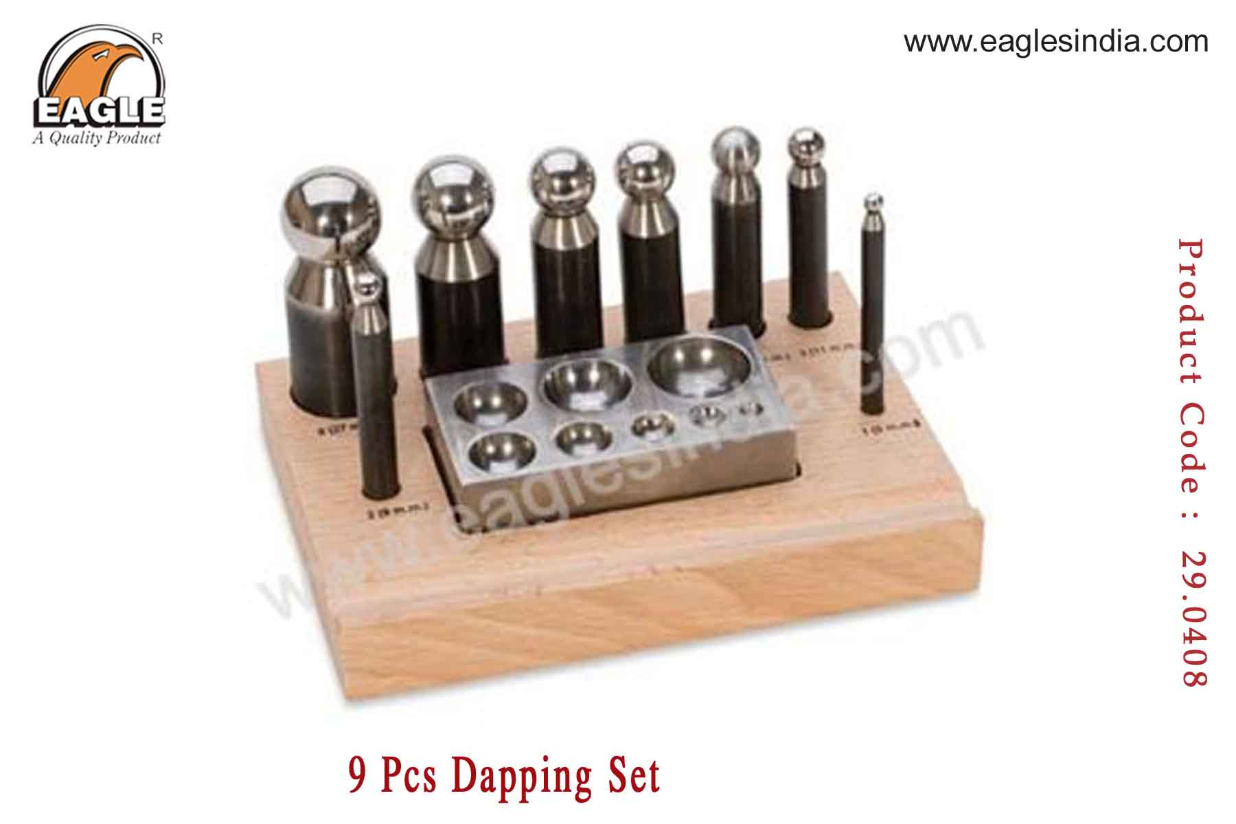 Dapping set 9pcs