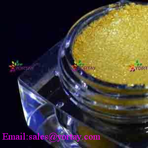 Golden Mica Pearl Pigments