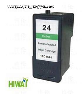 Lexmark24 colour remanufacture ink cartridge