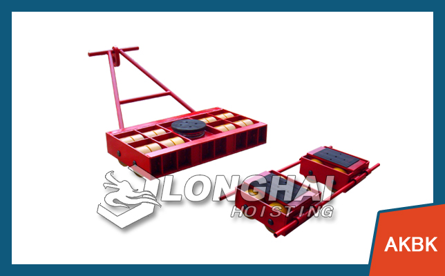 Roller skids and cargo trolley applications