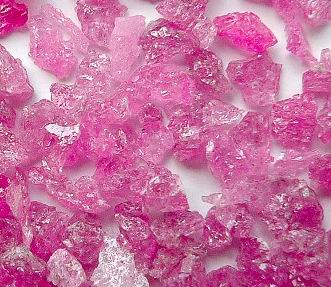 pink fused alumina for internal grinding