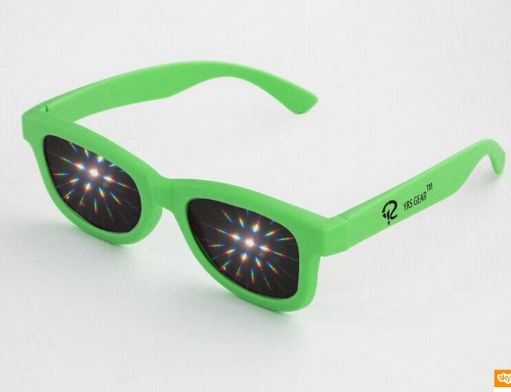 Cheap plastic fireworks glasses
