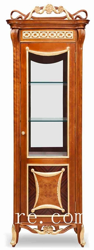 Corner china cabinet antique china cabinet wall mount china cabinet FJ-128A