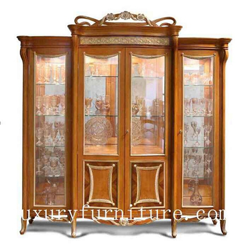 China cabinet displays wall mount cabinet antique china cabinet decoration cabinet FJ-128C