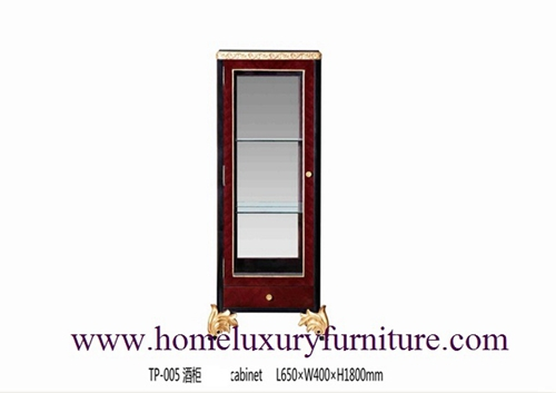 Corner cabinet dining room cabinet wine cabinet china cabinet displays TP-005