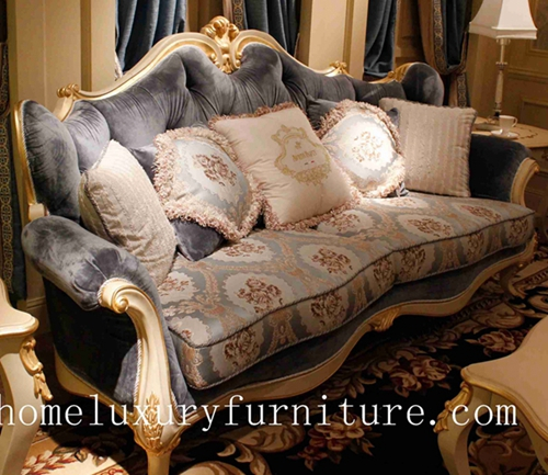 Sofas Fabric Sofa Price Classical Sofa Home Luxury Furniture Antique Style  Sofas FF 101