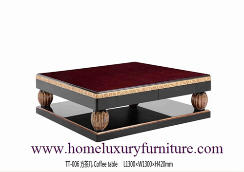 Coffee table supplier living room furniture China supplier neo classical furnitrue TT-006