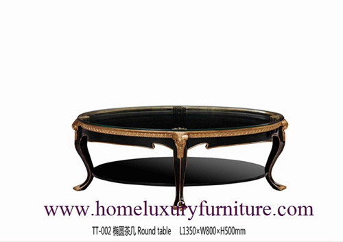 Neo Classical Furniture coffee table Marble coffee table price wooden table TT-002