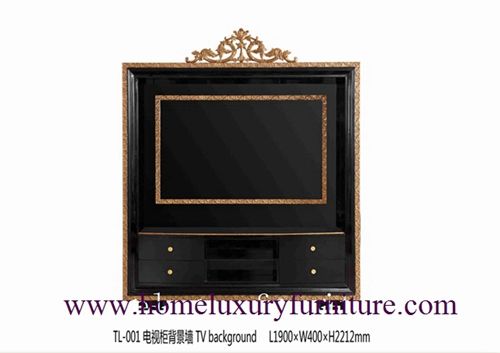 TV stands TV backgroud Neo Classical Tv cabinet price living room furniture TL-001