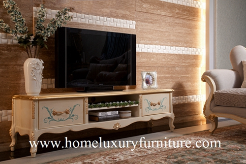 TV stands Living Room Furniture Neo Classical Wooden Furniture China Supplier FTV-101