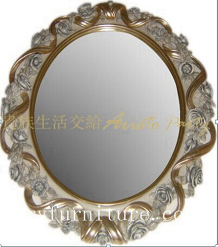 Dressing mirror classical mirror antique mirror wooden frame mirror FG-103