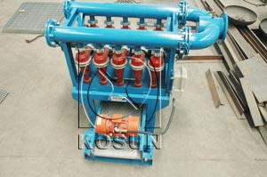 Oilfield drilling mud desilter