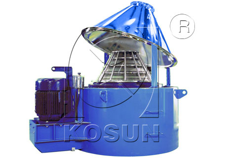 Drilling mud vertical cutting dryer
