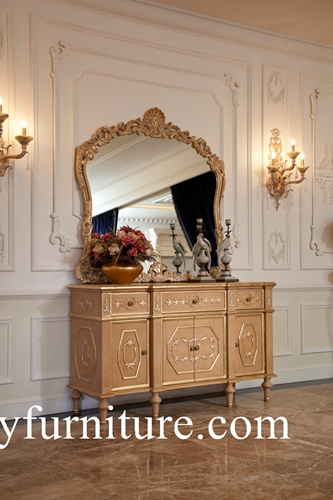 Buffet & Sideboards wall cabinet decoration table with mirror classic table AH-303