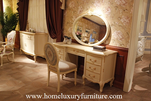 Dressing table dressers wooden table bedroom furnitrue bedroom table antique table FV-101