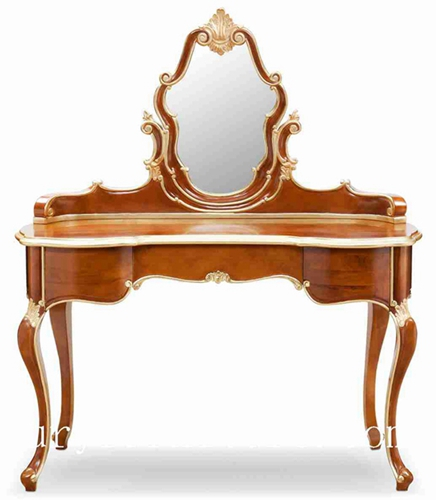 Dressing table dressers with mirror wooden table bedroom furniture itlian style FV-138