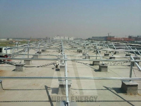 Galvanized Steel Solar Structure
