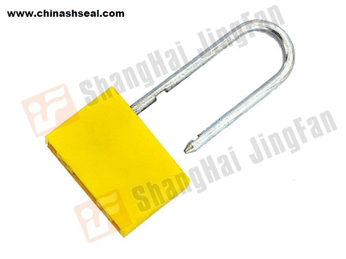 SMOOTH CUBOID DOUBLE-LOCK PADLOCK SEAL JF00701