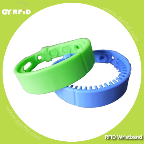 Reusable UHF GEN2 Wristband reach up to 2-5meter (GYRFID)