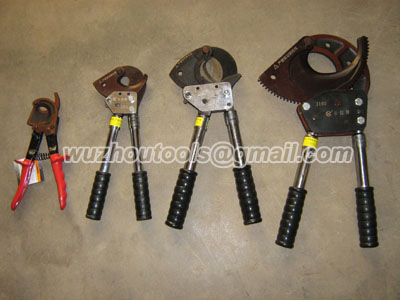 Ratchet cable scissors,Cable cutter,Cutting tools