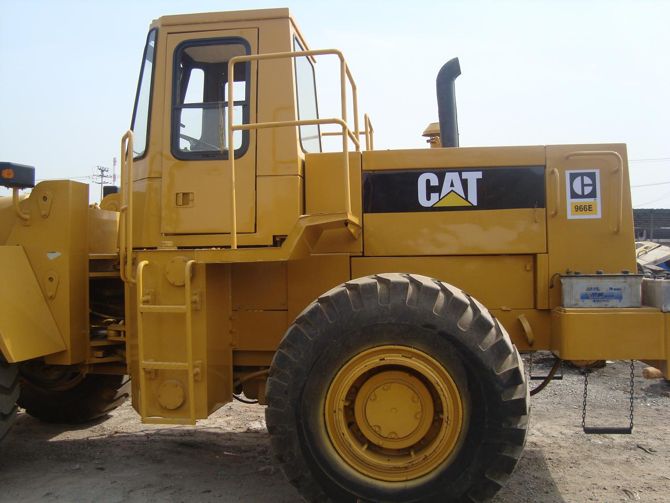 used cat 966E caterpillar loader only 23000 USD