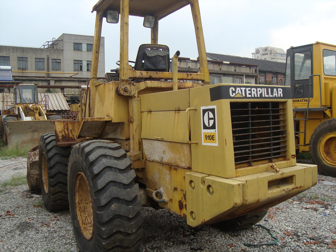 used cat loader 910E caterpillar 910E