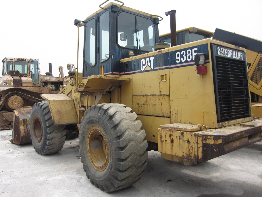 used cat loader 938F caterpillar 938F