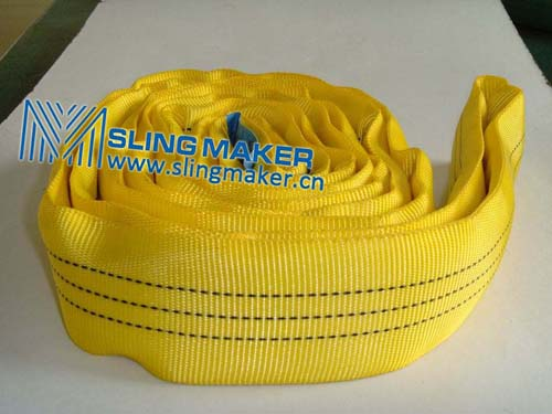 High quality WLL3ton 3000kg endless eye-eye round sling 6:1 7:1 8:1