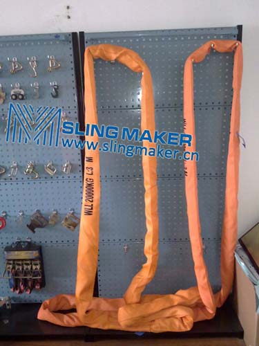 High quality WLL20ton 20000kg endless eye-eye round sling 6:1 7:1 8:1