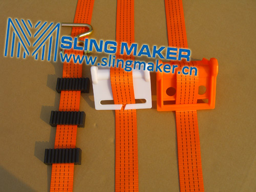 Hight quality corner protections for lashing strap tie down web lashing acc.to European standard