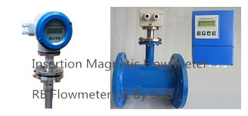 Insertion Type Magnetic Flow meters