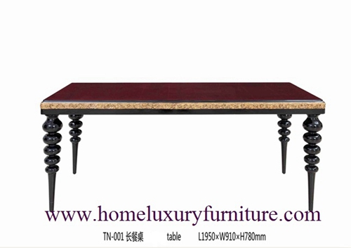 Classic table dining tables wood dining table room dining table furniture dining table TN001