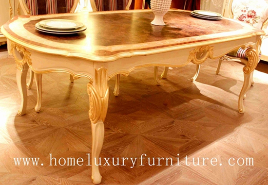 Wood dining table squre dining table FT105 dining table antique dining table 6 table solid