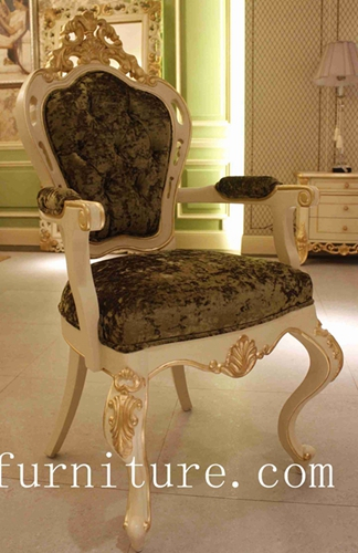 Antique Chairs Dining Chairs Popular in Russia Fabric Chair Dining Room Furniture FY-112