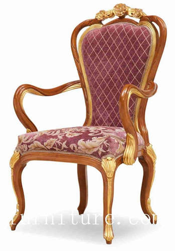 Antique Chairs Dining Chairs Popular in Russia Fabric Chair Dining Room  Furniture FY-128