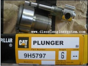 Diesel fuel engine pump injection caterpillar plunger