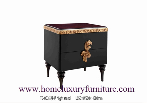 Nightstands Bedside table classical night stands wooden handcraft bedroom furniture TB-003